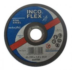 INCOFLEX TARCZA DO CIECIA METALU 125 x 1,6 x 22,2mm