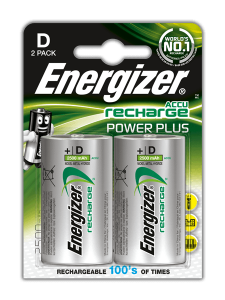Akumulator ENERGIZER Power Plus R20 2500mAh/2szt. D